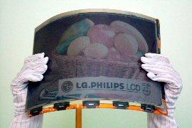 LG Philips E-paper